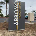 Monument Sign Arroyo Business Park