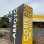 Monument Sign Carlsbad Business Park