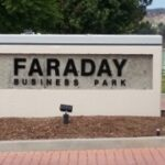 Monument Sign Faraday Business Park