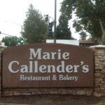 Monument Sign Marie Callender