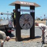 Monument Sign USMC
