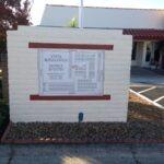 Wayfinding Monument Sign Vista Royal Lodge