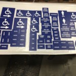 ADA Signs ready for install
