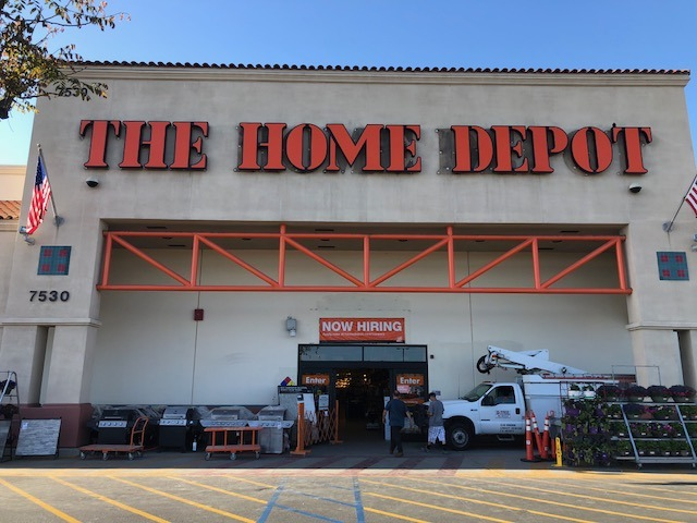 Home Depot Channel Letters