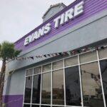 Channel Letter Evans Tire