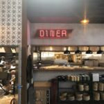 Channel Letter Neon Diner -inside