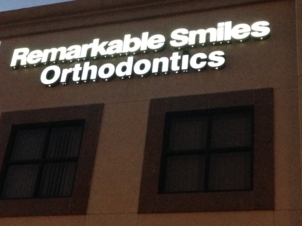 Orthodontics Channel Letters
