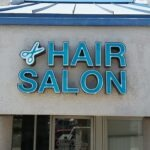 channel letters Hair Salon