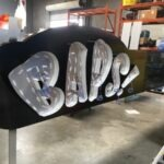 Channel letters Being Built