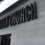 Channel letter San Marcos Rock Church