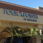 Channel letters Four Points Hotel