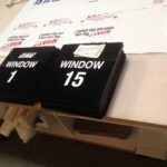 Dock Numbers ready for install