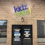 Dimensional Letter Wall Sign - Kidz Cove