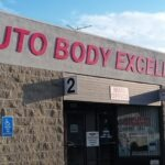 Wall Sign Dimensional Letters Auto Body Excellence