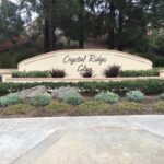 Monument Sign Crystal Ridge Glen