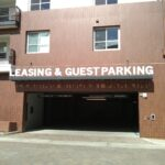 Fabricated Letters for Parking Garage