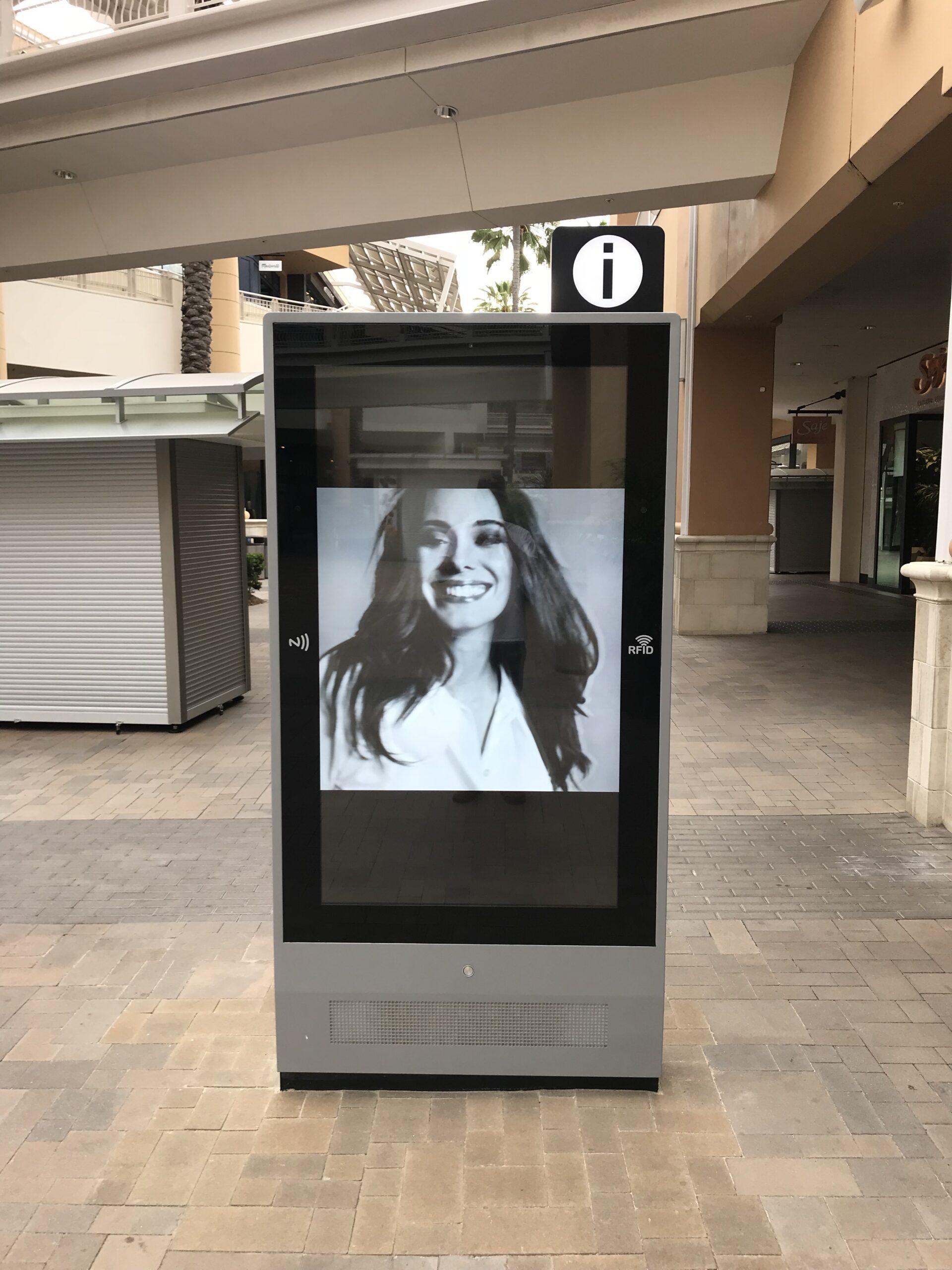 Shopping Mall Message Center