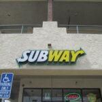 Channel letters Subways