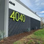 Business Park Building Address Numbers 4040