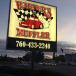 Carlsbad Signs Illumenated Cabinet Warner