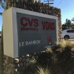 monument Sign CVS Pharmacy Vons