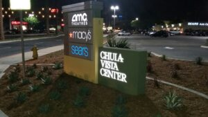 Small Stip Mall Monument Signs