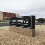 Monument Sign Frontwave