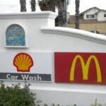 Monument Sign McDonalds