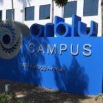 Monument Sign Orblu Campus