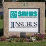 Monument Sign Business Park Insurus