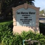 Monument Sign San Marcos Manor