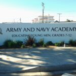 Monument Sign Army and Navy Academy