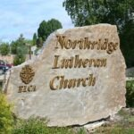 Monument Sign Northridge Lutheran Church