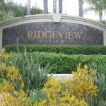 Monument Sign Ridgeview
