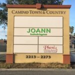 Monument Sign Camino Town & Country