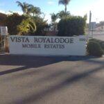 Monument Sign Vist Royal Lodge