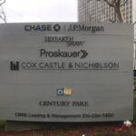 Monument Sign Century Park