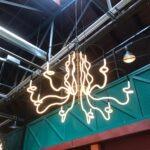 Neon Chandelier