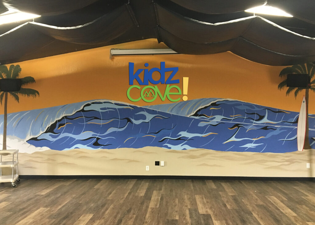 Kidz Cove Wall