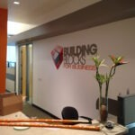 Lobby Sign Building Blocks for Business