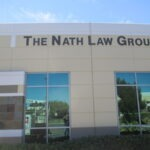 Wall Sign Dimensional letters Nath law Group