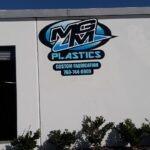 Dimensional Letter Wall Sign - MGM Plastics