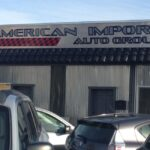 Exterior Building Sign American Import Auto group