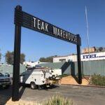 roadway archway teak warehouse