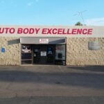 Dimension Letters auto body excellence