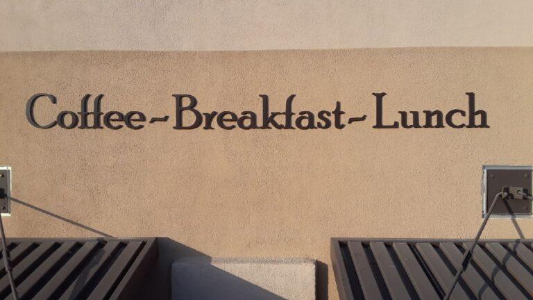 Dimensional Coffee Breakfast lunch