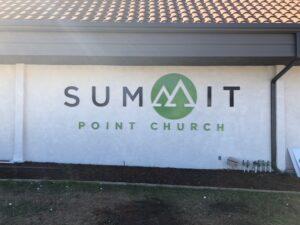 Church Dimensional Signs
