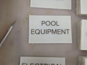 ADA Pool Signs