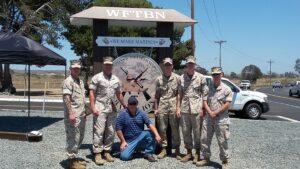 USMC Monument Signs