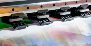 Wide format is inkjet printing